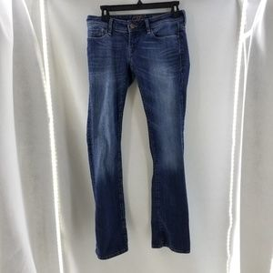 MAVI Bella Low Rise Blue Distressed Jean's 26/32